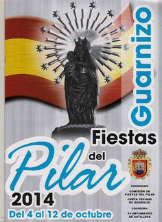 Resultado de imagen de Cartel Fiestas del Pilar en Guarnizo 2016