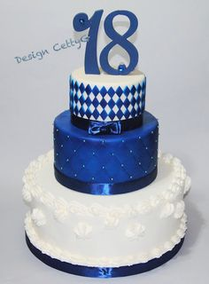 Le torte decorate di Cetty G: 18° Compleanno... 2 Tier Birthday Cakes, Birthday Cake Girls, Birthday Cake Toppers, Happy 17th Birthday, 18th Birthday Party, Jordan Cake, 18th Cake, Confirmation Cakes, Cake Images