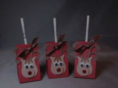 Rudi-pops! kh by Kelly H - Cards and Paper Crafts at Splitcoaststampers