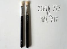 Zoeva Brush vs. Mac
