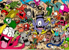 doodle__monster_invasion__colored_version__by_redstar94-d5s95w8.png (900×653)