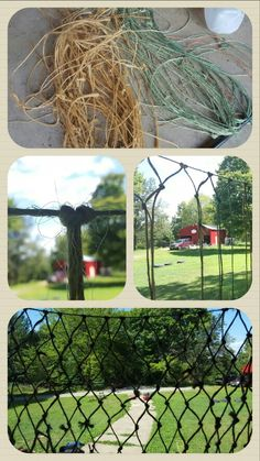 How to make a net out of bailing twine. Twine Crafts, Farm Crafts, Horse Crafts, Camping Crafts, Hay Feeder For Horses, Horse Hair Braiding, Farm Hacks, Farm Plans, Horse Tips