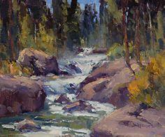 Autumn at Wild Basin - Ann Larsen Copeland Falls