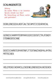 Wortarten Wortpaare und Wortfamilien | mit Kindern für die Schule ...