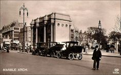 London Photos, Old Photos, Arch, Marble, Street View, Old Pictures, Antique Photos, Vintage Photos, Marbles