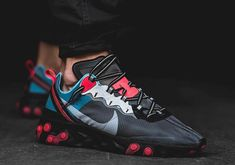 The Nike React Element 87 October 2018 Release Collection Drops Tomorrow Sneakers Mode, Best Sneakers, Sneakers Fashion, Shoes Sneakers, Nike Fashion, Basket Style, Streetwear, Hype Shoes, New Nike Shoes