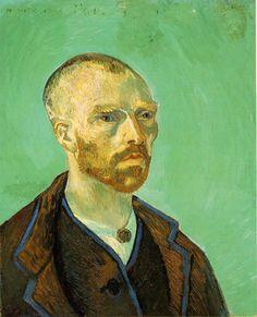 Vincent van Gogh, Self-Portrait Dedicated to Paul Gauguin, 1888, oil on canvas