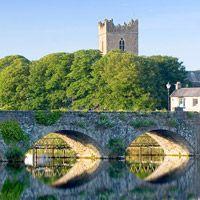 Killaloe Ballina Bridge and St. Flannan's Cathedral
