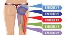 5 exercices efficaces pour renforcer les muscles fessiers, améliorer la posture et brûler les graisses. Vidéo.