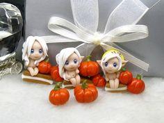 Halloween fairies /polymer clay beads