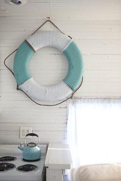 white wood and blue. The Mermaid Cottages. Tybee Island, Georgia. photo Ingrid Rorem