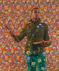 Kehinde Wiley Selected for Obamas Official Portrait...