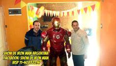 cumpleaños de iron man, buenos aires  wasap 11-40832214  facebook: show de iron man