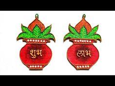Diwali Decoration Items, Diwali Decorations At Home, Festival Decorations, Handmade Decorations, Diwali Diy, Diwali Craft, Rangoli Ideas, Rangoli Designs, Diy Home Crafts