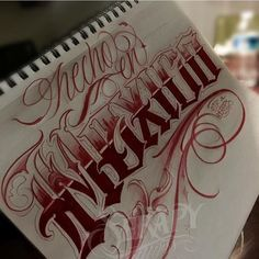 """""""""""Such a lonely day"""" Tattoo Lettering Styles, Chicano Lettering, Tattoo Script, Script Lettering, Graffiti Lettering, Graffiti Artwork, Graffiti Alphabet, Tattoo No Peito, Mexico Tattoo"""