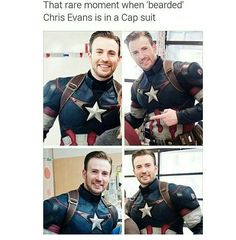 That was when he dressed up as captain America and visited kids with cancer in a hospital. Chris Pratt also dressed as StarLord and did it with him.