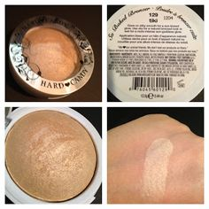 Highlighter: Hard Candy So Baked Bronzer In Tiki ($7-$9) A golden sheen highlighter with a rock star result for a bottom price! A close CLOSE match to NARS' $28 Albatross, and what a glow it gives! I use it on my cheekbones to give me a sunny glow