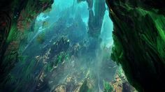 """Feel like a fractal caving adventure? A quest for the language of nature.  by Julius Horsthuis rendered in Mandelbulb3d, with additional techniques in 3DS MAX  music: """"One billion miles out""""  by Banco de Gaia"""