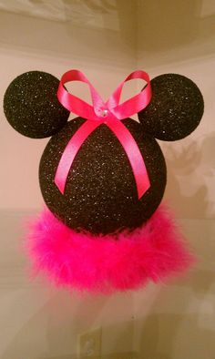 10 inch Minnie Mouse centerpiece