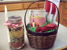 THRIVE foods make thoughtful gifts!! Make soup in a jar, or add a can of freeze dried food to a basket with some kitchen gadgets. Contact me directly to get party prices without having a party! http://freezedriedfoodisgood.blogspot.com/