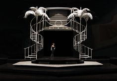 Stefanos Lazaridis Model of the set for 'The Mitford Girls', Directed by Patrick Garland, On loan from the Evershed Martin Private Collection Set Theatre, Set Design Theatre, Bühnen Design, Design Model, Dark Fantasy Art, Royal Ballet, Stage Set Design, Scenic Design, Design Reference