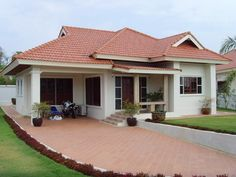 modern asian house exterior designs one storey - Google Search