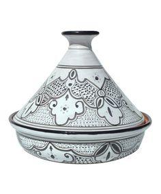 Look at this #zulilyfind! Black & White Sabrine Cooking Tagine by Le Souk Ceramique #zulilyfinds