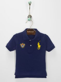 Baby Boy Cotton Polo Shirt - Create Your Own Baby Boy (Newborn–24M)
