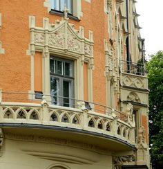 Art Nouveau /Jugend house in Helsinki, Finland Scandinavian Countries, Staircases, Helsinki, Homeland, Architecture Details, Finland, Sweden, Art Nouveau, Beautiful Homes