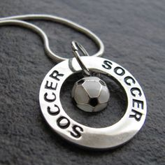 Silverado Jewelry - Soccer Necklace, $20.00 (http://www.silveradojewelry.net/soccer-necklace/)