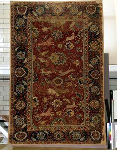 Carpet      Place of origin:      India (made)     Date:      1600-1699 (made)