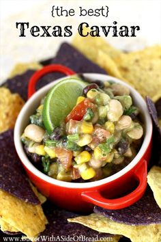 {THE BEST} TEXAS CAVIAR :Butter with a Side of Bread
