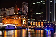The Ferry Building 2 - Auckland, NZ...spent many a Friday night with my friends here.  Great food!!