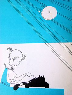 Dialing    From I Want To Be A Telephone Operator Carla Greene (Author), Mary Gehr (Illustrator), 1958.