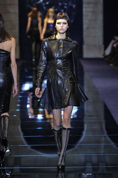 Versace. If it was socially acceptable to wear this in the real world, I totally would.