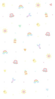 Pin by tan may min on phone wallpaper Cute Pastel Wallpaper, Soft Wallpaper, Cute Patterns Wallpaper, Cute Wallpaper For Phone, Iphone Background Wallpaper, Kawaii Wallpaper, Cellphone Wallpaper, Aesthetic Iphone Wallpaper, Disney Wallpaper