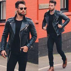 @chezrust #style #leatherjacket [ http://ift.tt/1f8LY65 ]