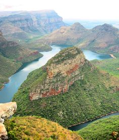 I can't believe I didn't go here when I was in South Africa - Blyde River Canyon My Land, Travel Memories, Our World, Homeland, Continents, Amazing Places, South Africa, Countries, The Good Place