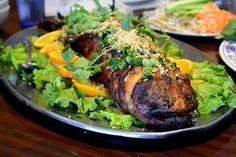 Phong Dinh Restaurant - San Gabriel, baked stuffed catfish