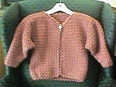 CrochetKim Free Crochet Pattern | Girl's In a Jiffy Jacket @crochetkim ༺✿Teresa Restegui http://www.pinterest.com/teretegui/✿༻