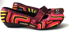 love the Mola shoes...Handmade from Colombia