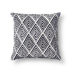 Navy Wave Throw Pillow - Threshold™ : Target