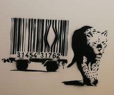 Banksy Banksy Artwork, Banksy Graffiti, Bansky, Urban Street Art, Urban Art, Edward Hopper, Stencil Graffiti, Street Art Banksy, Monet