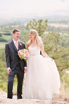 Bride emily wearing a wedding gown from little white dress bridal lwd bride ashly wearing the jenny packham may blossom wedding gown from little white dress bridal junglespirit Images