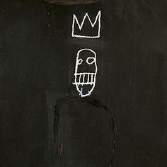 Jean-Michel Basquiat decks - The Skateroom Jean Basquiat, Jean Michel Basquiat Art, Dark Art Illustrations, Illustration Art, Basquiat Tattoo, Tattoo Flash Art, Brand Book, Glitch Art, Art Sketches