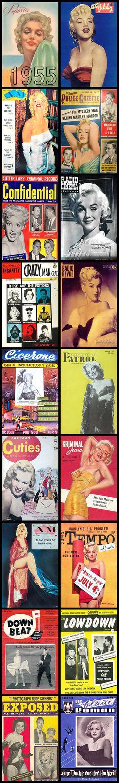 1955 magazine covers of Marilyn Monroe .... #marilynmonroe #normajeane #vintagemagazine #pinup #iconic #raremagazine #magazinecover #hollywoodactress #1950s