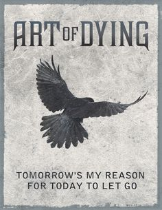 Tomorrow's my reason for today to let go.