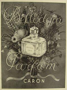 Publicité Vintage - Parfum Caron