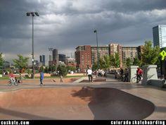 inner city skate parks - Google Search Skate Park, Building Design, Colorado, Environment, Street View, Exterior, Urban, Lights, City