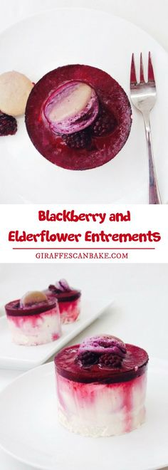 Are you looking for easy and simple entrements recipe? Blackberry and Elderflower Entrements are served in between courses as a kind of signal that the previous course is over – they ranged from simple porridge type dishes to extravagant sugar sculptures and even performances. #entrements #blackberry #elderflower